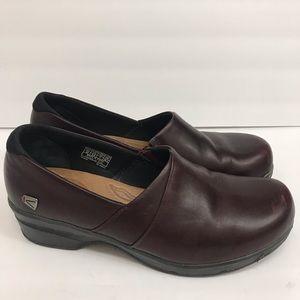 Keen MORA Clog Brown Leather Slip On Loafer 9.5